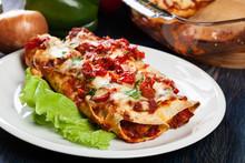 Traditional Mexican Enchiladas...