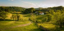Summer Landscape In Western Se...