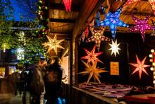 A Christmas Market Stall