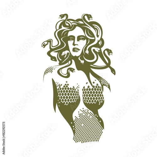 Photo medusa illustration
