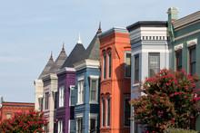 Row Houses In The Washington D...