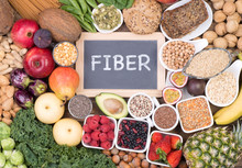 Food Rich In Fiber, Top View