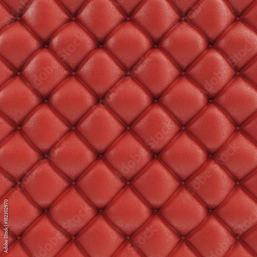 3d Illustration Leather Sofa Texture Luxurious Texture Of