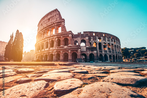 Stampa su Tela The Roman Colosseum