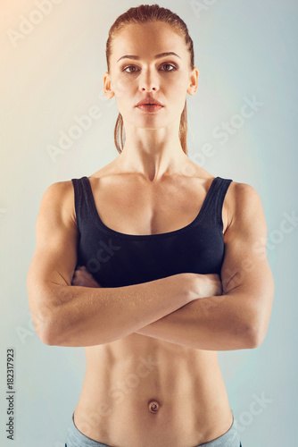What Are You Waiting For Young Sporty Lady Leading An