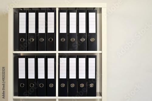 Ordner Akten Dokumente Papiere Burokratie Archiv Verwaltung