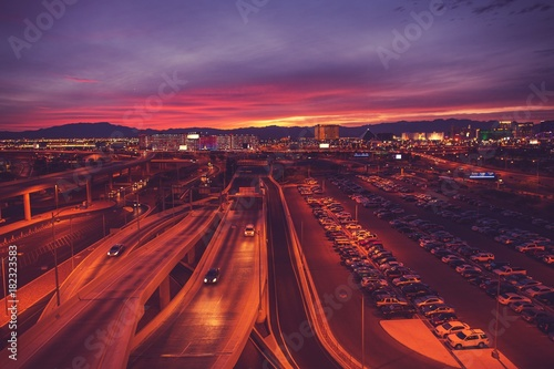 Poster Las Vegas City of Las Vegas Nevada