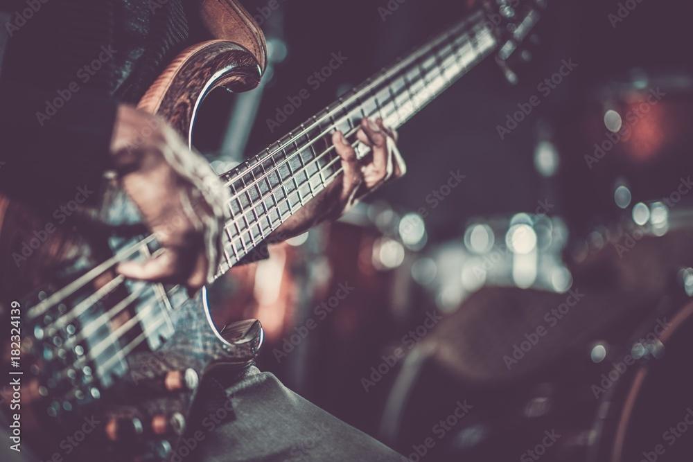 Fototapeta Passionate Guitarist Music