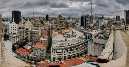 Foto op Canvas Buenos Aires Buenos Aires Argentina Cityview Skyscraper