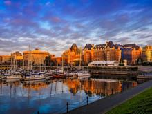 Inner Harbor Of Victoria, British Columbia, Vancouver Island, Canada