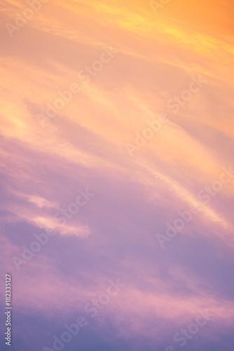 sky gradient Wallpaper Mural