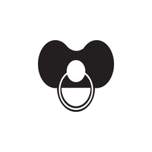 Soother Icon. Toy Element Icon...
