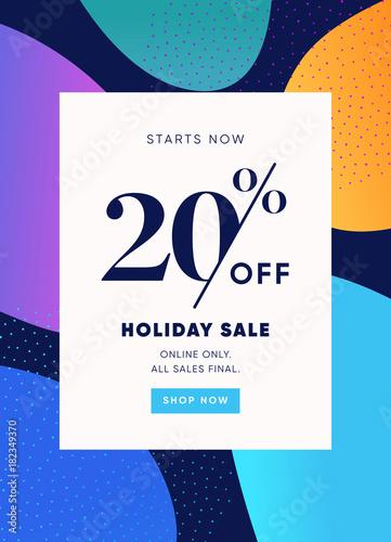 Papel de parede  20% OFF Sale Discount Special Offer Promo Ad