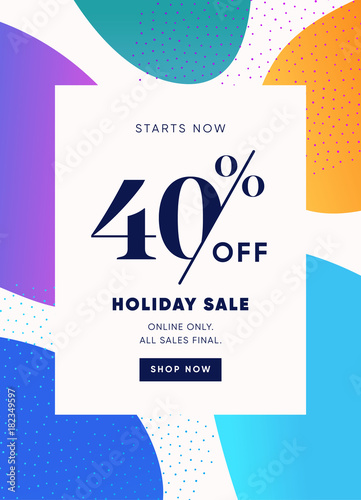 40 off special offer price discount email banner design template 40 off special offer price discount email banner design template colorful and trendy maxwellsz