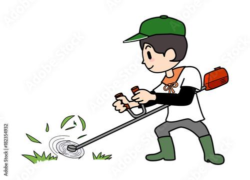 Foto  農業-芝刈り機