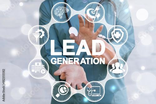 Photo Lead Generation Health Care concept