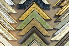Frame Shop Sample Picture Frame Display Various Design