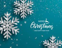 Elegant Christmas Background W...