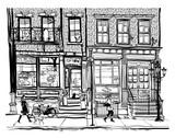 Domy w Greenwich Village w Nowym Jorku - 182398344