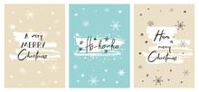 Set Of Creative Christmas Card...