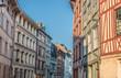 Maisons à Pans de Bois & ruelle de Rouen