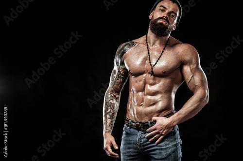 Fotografía  Bodybuilder posing