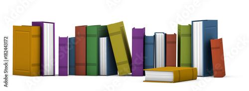 libros 3d Fototapet
