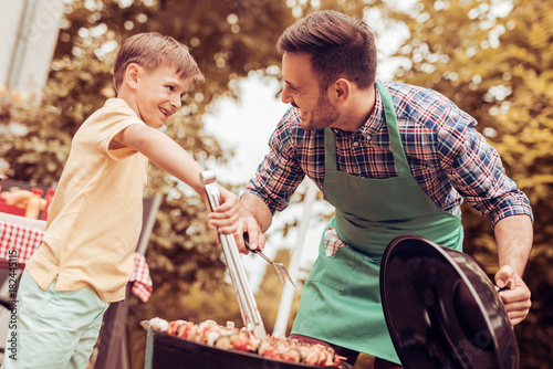 Papiers peints Grill, Barbecue Barbecue time