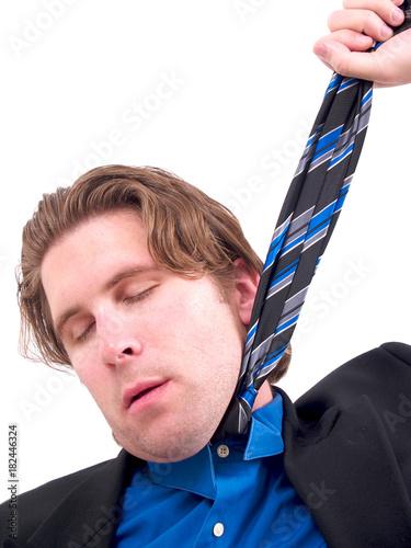 Fotografie, Obraz  Businessman Choke Tie