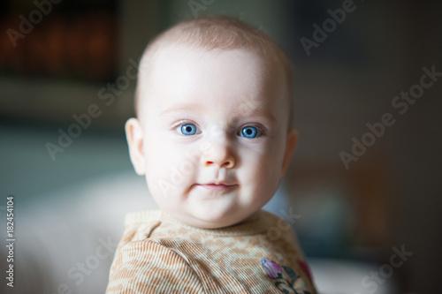 Baby Ellie Happy #105 Canvas Print