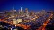 Day-to-night San Francisco skyline timelapse beauty