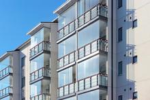 Balconies In Apartment Residen...