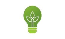 Lamp Leaf Logo