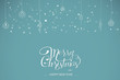 Merry Christmas handdrawn lettering design elements. Great element for cards, banners and flyers.