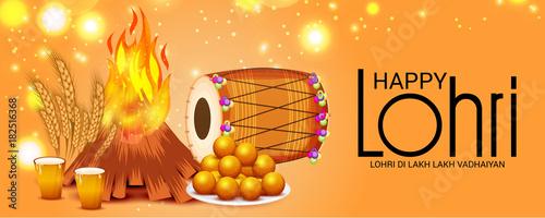 Photo  Happy Lohri