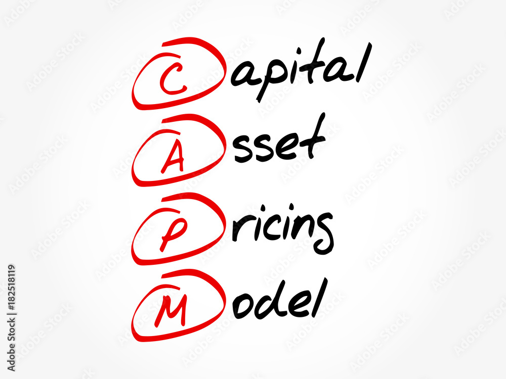 concept of capital asset pricing model The capital asset pricing model is an elegant theory with profound implications for asset pricing and investor behavior but how useful is the model given the idealized.