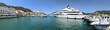 canvas print picture - Hafen Bonifacio Korsika
