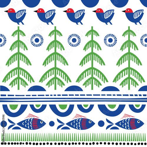 Obrazy styl skandynawski   folklor-szwecji
