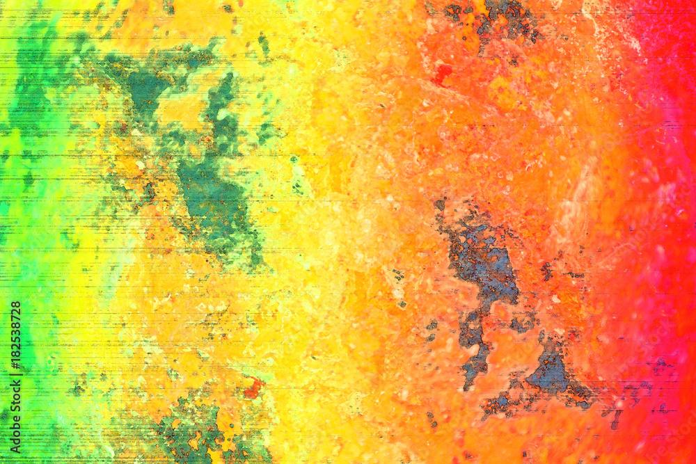 Fotografia Miękki Koloru Tło Reggae Barwi Grunge Kolor