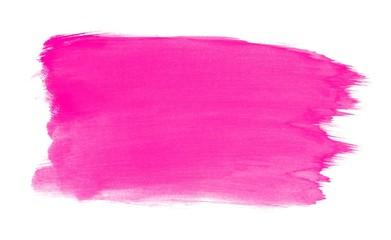 Gemalte Farbfläche rosa