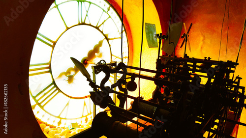 Fotografie, Obraz  orologio chiesa