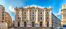 Facade Of Palazzo Mezzanotte, ...