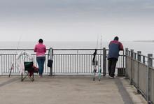 Sea Fishing Off Southwold Pier
