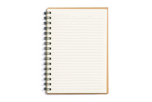Open Blank Notebook Isolated O...