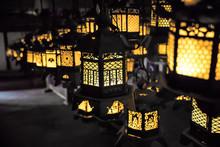 Japanese Lanterns At Kasuga-ta...