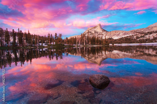 Photo sur Toile Marron chocolat Yosemite National Park