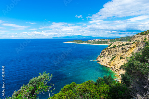 Foto op Plexiglas Caraïben Coastline at the Greece