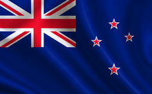 New Zealand Flag. A Series O...