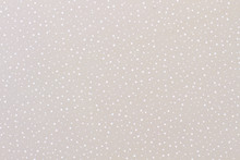 Grey Paper Background With A Pattern Of Snow. Grey Color Texture Pattern Background. Paper For Handmade Winter Craft.