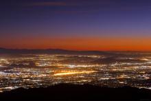 Night Falls On San Bernardino ...